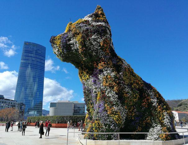 que ver en Bilbao - Guggenheim y Puppy