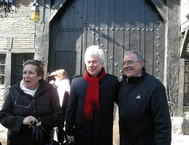 Ken Follet visita guiada Vitoria ciudad de novela