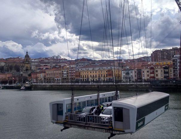 que ver en Bilbao - puente colgante