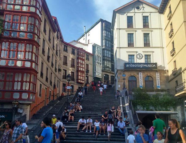 Turismo Bilbao y puente colgante - visita guiada